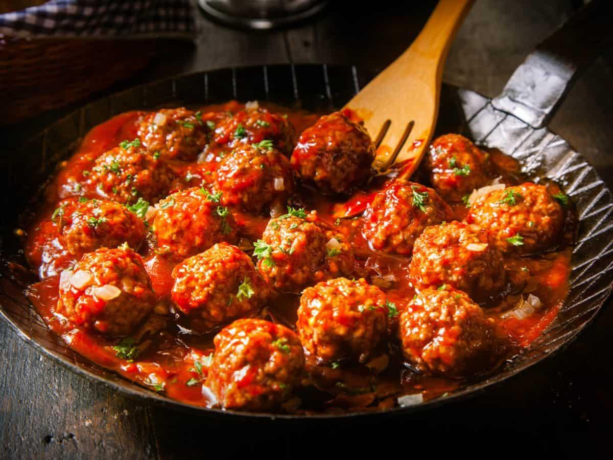 Sweet BBQ Meatballs